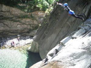 aptitude canyonning montpellier