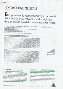 article prévention lyme