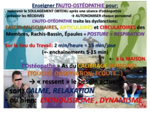burn out et auto-ostéopathie