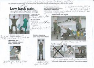douleurs du dos