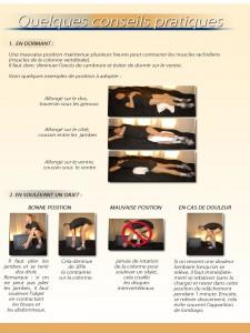 conseils position sommeil